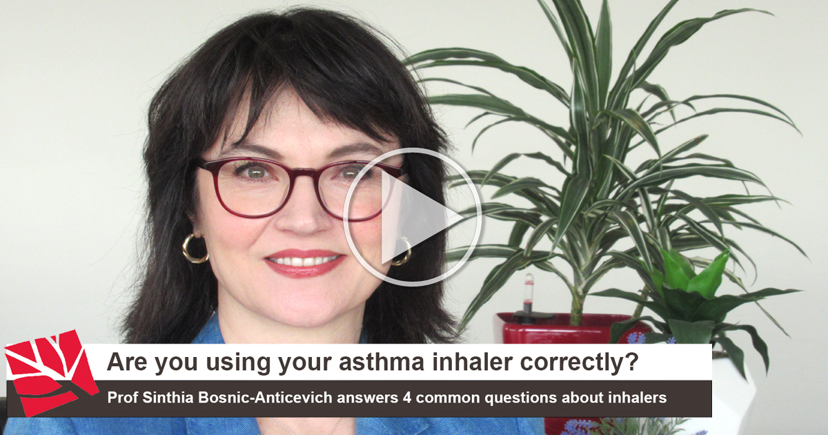 Are you using your asthma inhaler correctly?